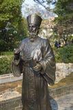Статуя Matteo Ricci стоковое фото rf