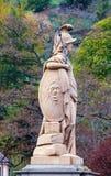 Статуя Minerva стоковое фото