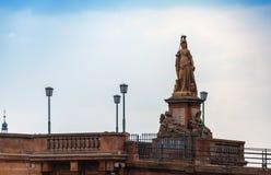 Статуя Minerva стоковая фотография