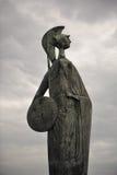 статуя minerva стоковые фото