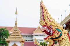 Статуя Naga Таиланда Стоковое фото RF