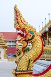 Статуя Naga Таиланда Стоковые Фотографии RF
