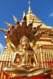 Статуя Nak Prok Будды Стоковые Изображения RF