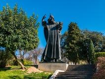 статуя nin gregory Стоковая Фотография RF