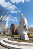 Статуя Noah Webster Стоковые Изображения RF