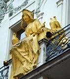 Статуя Nouveau искусства Стоковое Изображение