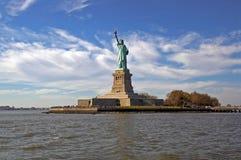 статуя nyc вольности Стоковое Изображение