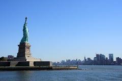 статуя nyc вольности Стоковое фото RF
