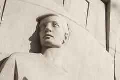 Статуя od детали в Барселоне, Испании Стоковое Изображение RF