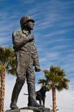 статуя patton генералитета george Стоковое Изображение RF