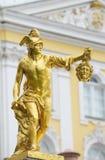 статуя perseus s medusa gorgon головная Стоковая Фотография RF