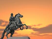 статуя peter Стоковое Фото
