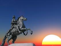 статуя peter Стоковая Фотография RF