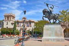 Статуя Rodrigo Diaz de Vivar Стоковая Фотография RF