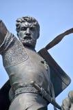 Статуя Rodrigo Diaz de Vivar Стоковое фото RF