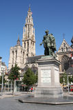 статуя rubens antwerp Стоковая Фотография