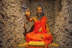 Статуя sadhu, музея скульптуры, математики Kaneri, Kolhapur, махарастры Стоковые Фото