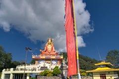 Статуя Samdruptse, огромная буддийская мемориальная статуя в Сиккиме стоковые изображения