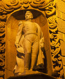 Статуя San Miguel de Альенде Мексика Ignacio Альенде Стоковые Изображения