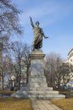 Статуя Sandor Petofi в Будапеште Стоковое Изображение
