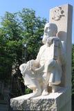 Статуя Serban Cantacuzino Стоковое фото RF