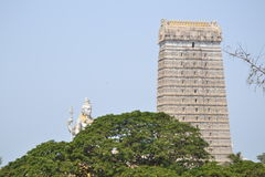 Статуя Shiva & висок - Murudeshwar Стоковые Фотографии RF