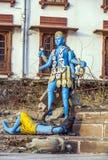Статуя Shiva в Pushkar Стоковые Изображения RF