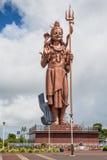 Статуя Shiva гиганта на грандиозном озере Bassin, Маврикии Стоковые Фотографии RF