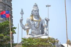 Статуя Shiva - Murudeshwar Стоковое фото RF