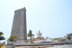 Статуя Shiva - Murudeshwar Стоковое Изображение RF