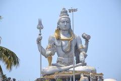 Статуя Shiva - Murudeshwar Стоковые Фотографии RF
