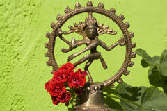 Статуя Shiva Nataraja Стоковое Фото
