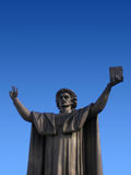 статуя skorina franzisk Стоковые Изображения