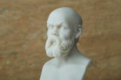 Статуя Socrates, философ древнегреческия Стоковые Фото