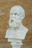 Статуя Socrates, философ древнегреческия Стоковое Фото