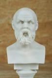 Статуя Socrates, философ древнегреческия Стоковая Фотография