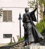 Статуя St Венедикта как мальчик Стоковые Изображения RF