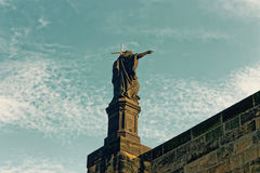 Статуя St Charlies Стоковые Изображения RF