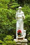 статуя st francis Стоковое Изображение