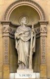 Статуя St James Стоковые Фотографии RF