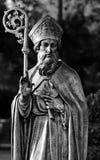 статуя st patrick стоковые фотографии rf