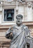 Статуя St Peter в Ватикане Стоковые Фото