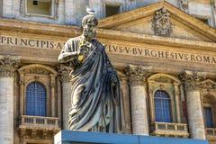 статуя st peter стоковое изображение