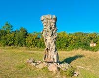 Статуя Staventin Стоковое фото RF