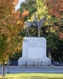 Статуя Stonewall Джексона Стоковые Изображения