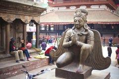 Статуя Suparna Стоковая Фотография RF