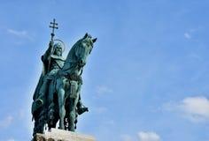 Статуя Szent Istvan в Будапеште Стоковая Фотография RF
