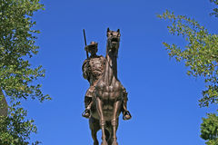 статуя texas Стоковые Фото