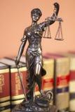 Статуя Themis юридического офиса законная Стоковая Фотография