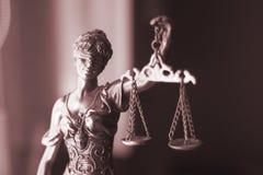 Статуя Themis юридического офиса законная Стоковая Фотография RF